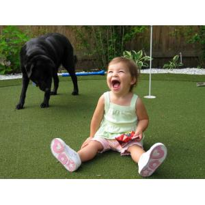China Durable Soft Synthetic Artificial Lawn Turf , Pile Height 15 on sale