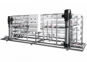 China Stainless Steel Fluid Control Equipments , RO Reverse Osmosis Pure Water Equipment on sale