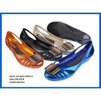 Ladies pvc jelly sandals for women nice stylish blue women