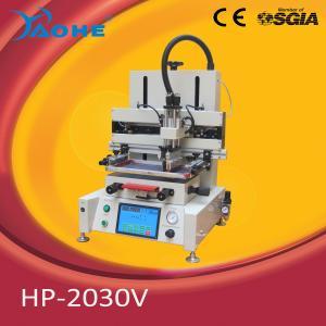 China mini desktop screen printing mahine with vacuum table on sale