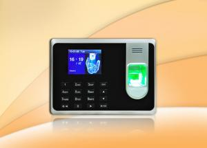China Fingerprint access control with Li - Battery / self - service report and desktop mount for optional on sale