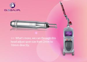 China Professional Q Switch ND YAG Laser Machine Portable Laser Pigmentation Removal on sale