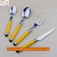18/10 Stainless Steel Edible Portable Plastic Handle Cutlery