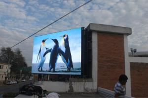 China Outdoor LED Advertising Screens , SMD 3535 Billboard LED Display For Street Advertising on sale