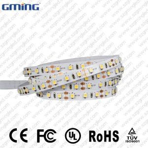China 9.6W Flexible 24V LED Strip Lights Pure White Copper Body Material White Color on sale