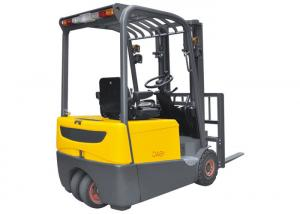 China Three Fulcrum Mini Electric Forklift 1.6t Max Lifting Height 6.2m With AC Control System on sale