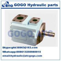 Parker Denison powerful Hydraulic Oil Pump , Pressure vane axial piston motor T6CCM double vane pump