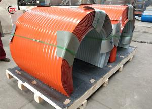 China Simple Operation Conveyor Belt Covers / Cleated Conveyor Belt Hoods on sale