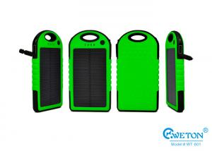 China 5000mAh Shockproof Li-Polymer Solar Power Charger for Cell Phone / MP3 on sale