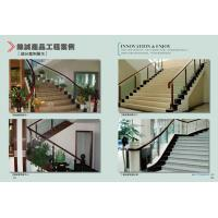 high quality stair banister stair railing factory