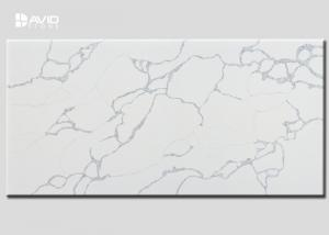 China Custom High Hardness Artificial Quartz Stone Slab Class A Crack Resistant on sale