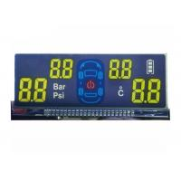 5.0V FSTN LCD Display / Transflective Monochrome LCD Display For Vehicle Carrier System
