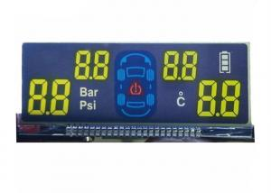 China 5.0V FSTN LCD Display / Transflective Monochrome LCD Display For Vehicle Carrier System on sale