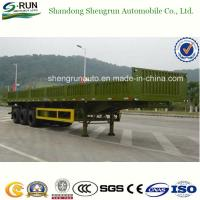 Shengrun 30-60 Tons Side Wall Semi Trailer/Vietnam Truck Trailer