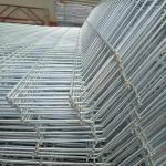Galvanized / Pvc Coated Double Loop Wire Fence Panel , Security Wire Fence