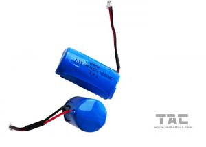 China High Energy Density 3.0V CR123A 1600mah Li-Mn Battery , Gps Tracking on sale