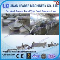 stainless steel pet and animal food processing line