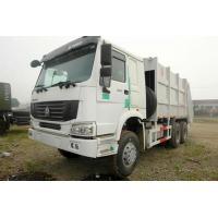 Sinotruk Howo 6x4 Garbage Compactor Truck Heavy Duty Powered By Diesel