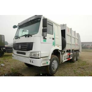 China Sinotruk Howo 6x4 Garbage Compactor Truck Heavy Duty Powered By Diesel on sale