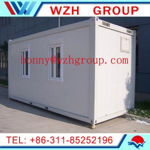 China 20 feet flat pack container house for office on sale