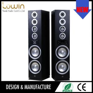China Superior professional workmanship black 2.0 active karaoke speaker , active speaker with rechargeable battery on sale