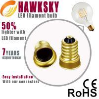 China 2014 led filament  lighting E12/E27 base led lighting   factory on sale