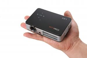 China LED portable mini digital multimedia projector Q2 with AV, VGA, MP4, USB, SD, DC Inputs on sale