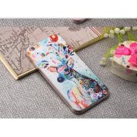 Colorful Painting TPU Phone Case Cell Phone Accessories For Iphone 7 / Iphone 7 Plus