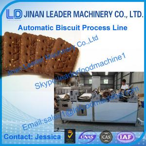 China Automatic Biscuit Production Line / Biscuit processing equipment on sale