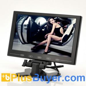 China Ultra-thin 9 Inch TFT LCD Monitor for In-Car Headrest/Stand - 800x480 on sale