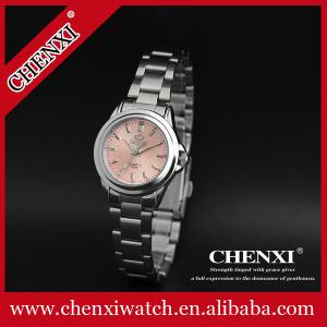 China Fashion Jewelry Watch Wholesale Wristwatches Girls Pink Blue FashionCute Stainless Steel Ladies Watches on sale
