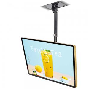 China Android Windows System Wall Mounted Digital Signage Roof Mount LCD Color Monitor For Chain Shops on sale