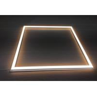China 48 Watt Suspend Aluminum Square Led Ceiling Frame Light With Pressed Steel Base For Restaurant on sale
