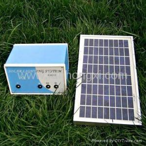 China Solar home lighting system (5W,10W,20W) on sale