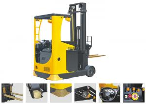 China Seat Type Electric Reach TruckForklift , Narrow Aisle Reach Truck 6.2m Lifting Height on sale