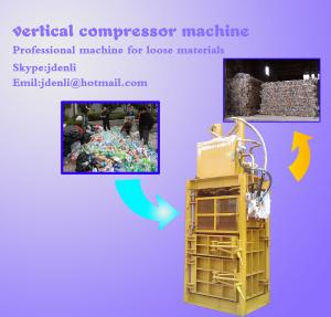 China vertical compressor,vertical baling press,60 tons baling press,compressing machine on sale