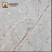 Hot sale Foshan cheap price 60*60 light gray Full Polished Glazed porcelain floor tile