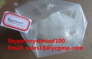 China Anastrozole Bodybuilding Arimidex Bulking Cycle Steroids Powder Anti-estrogen 120511-73-1 on sale