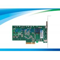 China PCI Express Network Card Dual Ethernet Ports 32°F - 131°F Copper Connector on sale