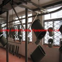China Car Auto Parts Powder Painting Spraying Line System Plant on sale