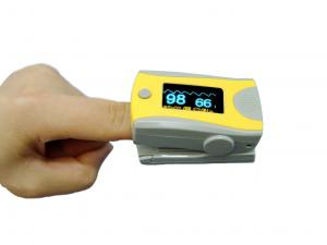 China Medical Patient Monitoring System Diagnostic Pluse Oximeter Finger Pulse Oximeter With Battry on sale