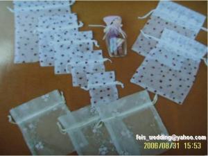 China Wedding Organza Bag on sale