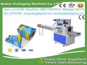 China Laminated plastic packaging candy metalic stretch film ,use for flow pack machine on sale