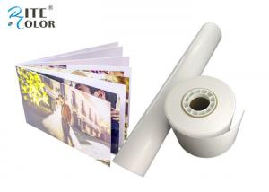 China Rc Micro Porous Luster Resin Coated Photo Paper 260gsm For Ink Jet Printing on sale