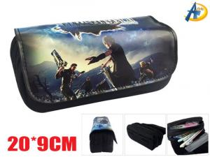 China Final Fantasy Game Canvas pencil bag on sale