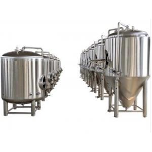 Three Vessel 2 BBL Beer Distillery Equipment Mirror SUS UL ISO Approve