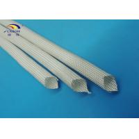 China White High Temperature Fiberglass Sleeving for AC Motor / Generator / Electronics on sale