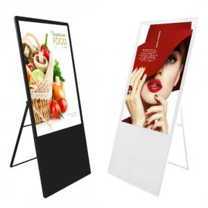 China 55 inch Floor type FHD LCD advertising board for all kinds of shops on sale