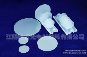 China Sapphire wafer LED substrate DSP SSP 99.999% Al2O3 mono crystalline C-plane R-plane A-plane M-plane on sale