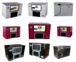 la machine numérique de clou de machine d'imprimante d'art du clou 3D pour imprimer s'est levée, porte des fruits, verre, téléphones portables